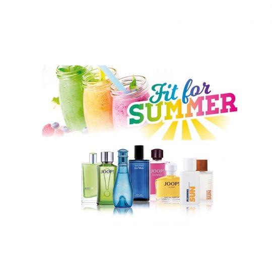 Exklusive Sommer Geschenk-Aktion: Fit for Summer