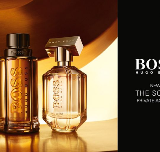Boss the scent private accord for him & for her